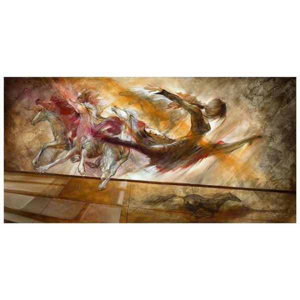 """Lena Sotskova, """"Force of Nature"""" Hand Signed, Artist Embellished Limited Edition"""