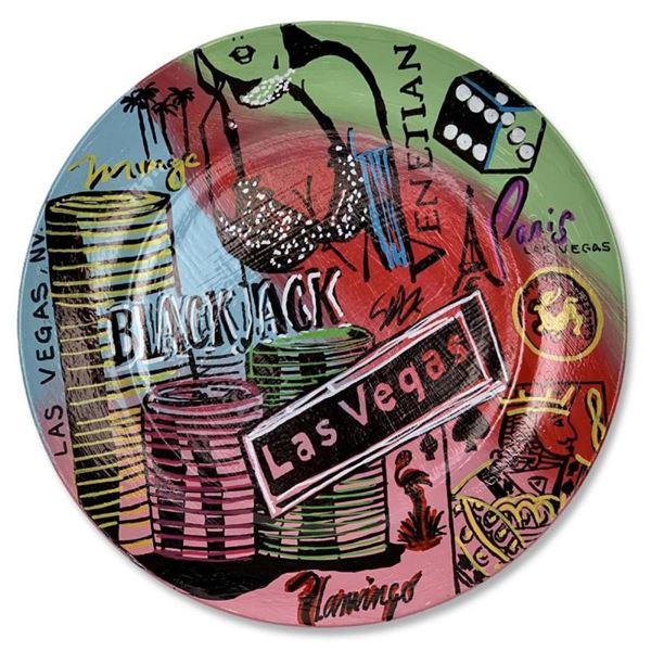 Vegas by Steve Kaufman (1960-2010)