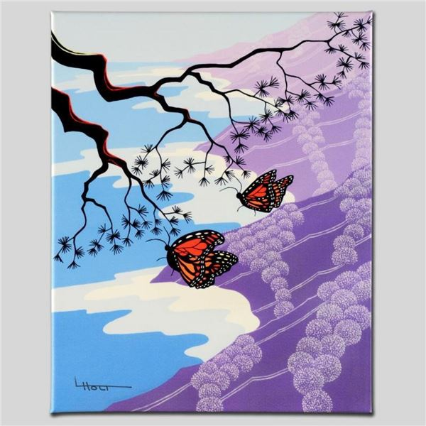 """""""Monarchs"""" Limited Edition Giclee on Canvas by Larissa Holt, Numbered and Signed"""