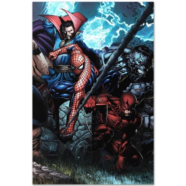 """Marvel Comics """"Ultimatum #4"""" Numbered Limited Edition Giclee on Canvas by David"""