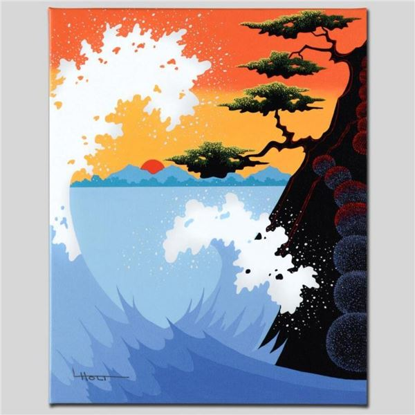 """""""Sea Fantasy"""" Limited Edition Giclee on Canvas by Larissa Holt, Numbered and Sig"""