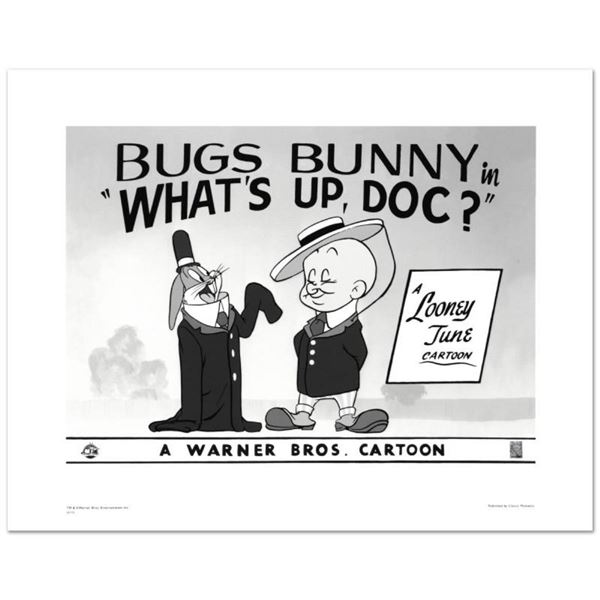 """""""What's Up Doc #2"""" Limited Edition Giclee from Warner Bros., Numbered with Holog"""