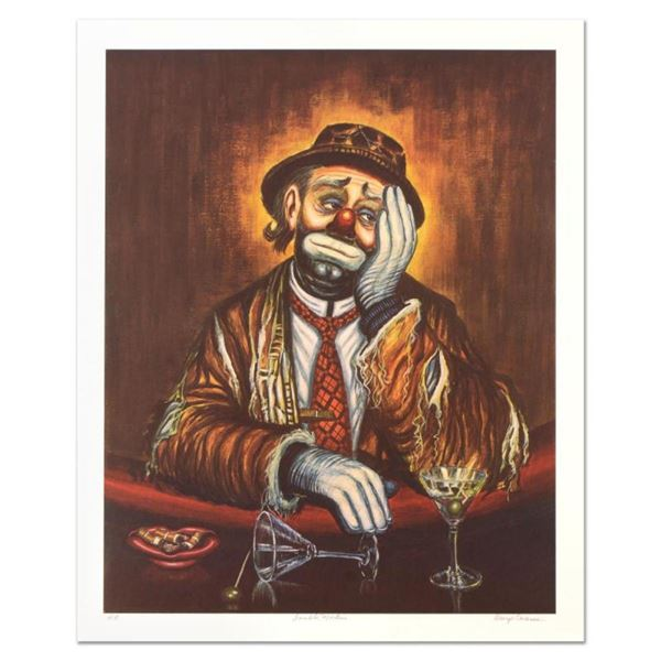 """George Crionas (1925-2004), """"Double Martini"""" Limited Edition Lithograph, Numbere"""