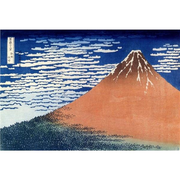 Hokusai - Mount Fuji