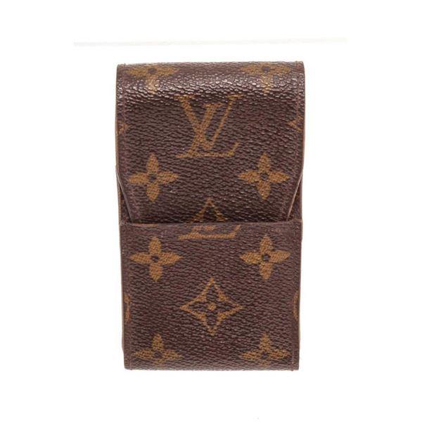 Louis Vuitton Brown Monogram Cigarette Case Wallet
