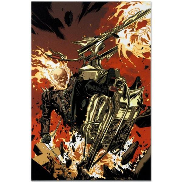 """Marvel Comics """"Ultimate Avengers 2 #4"""" Numbered Limited Edition Giclee on Canvas"""