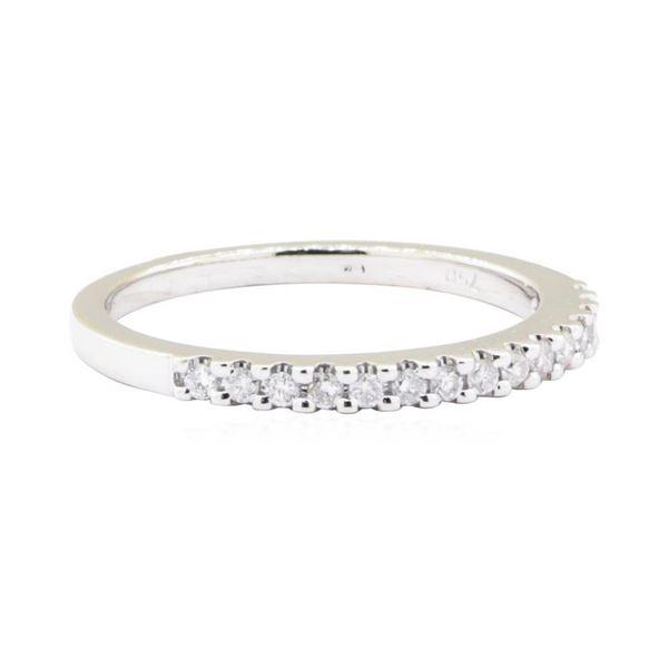 0.15 ctw Diamond Ring - 18KT White Gold