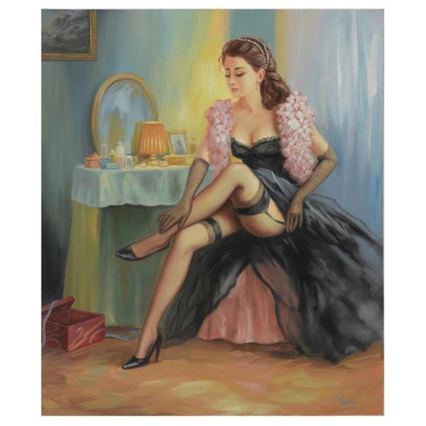 """Taras Sidan, """"Melissa"""" Hand Signed Limited Edition Giclee with Letter of Authent"""