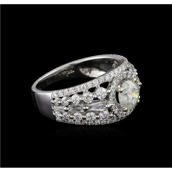18KT White Gold 2.23 ctw Diamond Ring