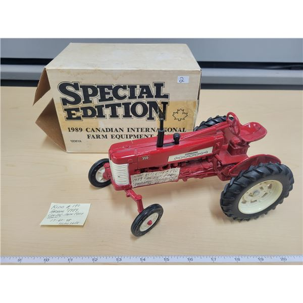 Special edition 1989 Can. Int. Farm Equip. Show tractor (CNE Toronto)