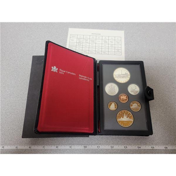 1984 RCM double dollar coin set