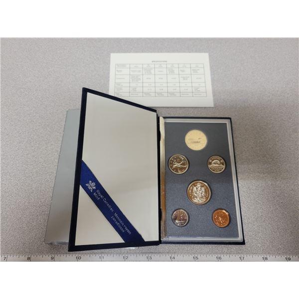 1989 RCM double dollar coin set