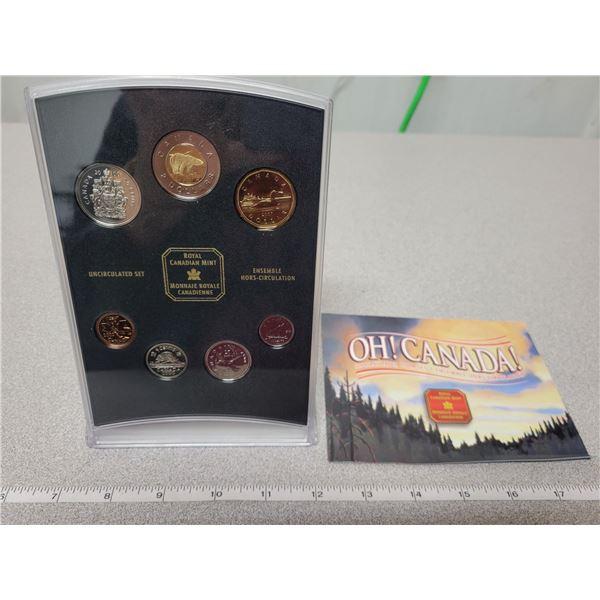 2000 O Canada RCM coin set