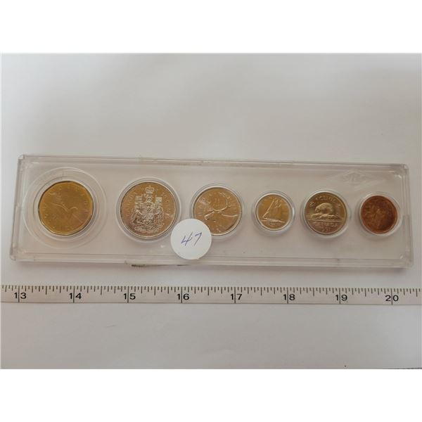 1991 Canadian proof coin set