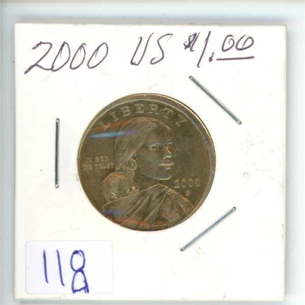 2000 US $1 coin
