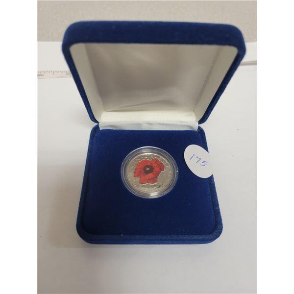 2015 Special edition quarter in blue box