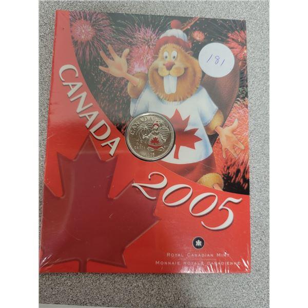 2005 special 25¢ coins cdn