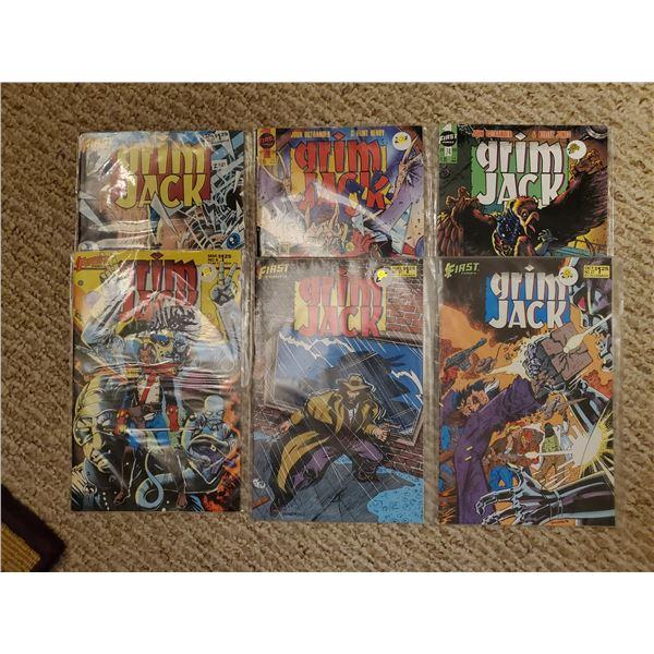 6 Grim Jack comics