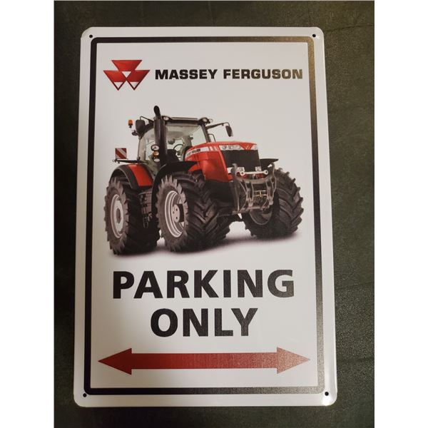 Massey Ferguson tin sign