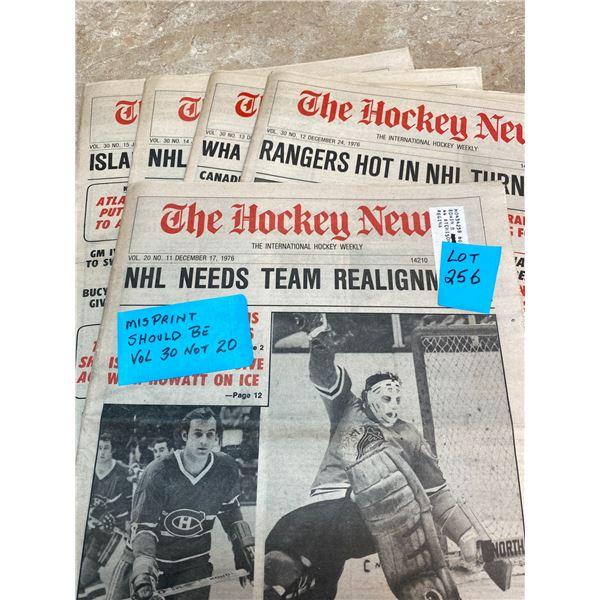 77-76 Vol 30 No 11-15 Canadians LaFleur Better Than Ever   Islanders Trottier Getting Form Back