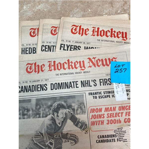 77-76 Vol 30 No 16,17,19,20 Larry Robinson Touted for Norris Trophy Hedberg Breaks Rocket's Record