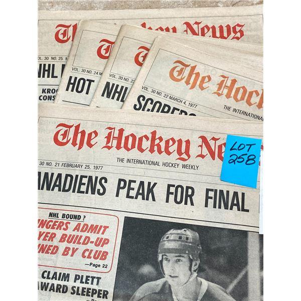 77-76 Vol 30 No 21-25 Steve Shutt Top Scorer The Grand Old Man Gordie Howe still Setting scoring Mar