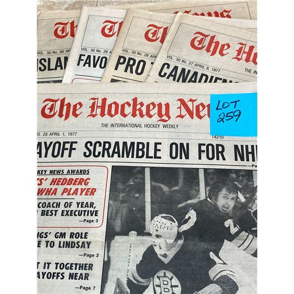 77-76 Vol 30 No 26-30 Gil Gilbert and Brad Park Tough at Blueline, Leafs Darryl Sittler Playoff Scor