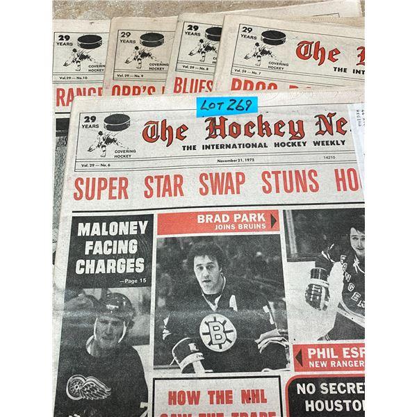 75-76 Vol 29 No 6-10 The Hockey News Pros Rap Violence in Hockey Orr Hockey Future Again Uncertain