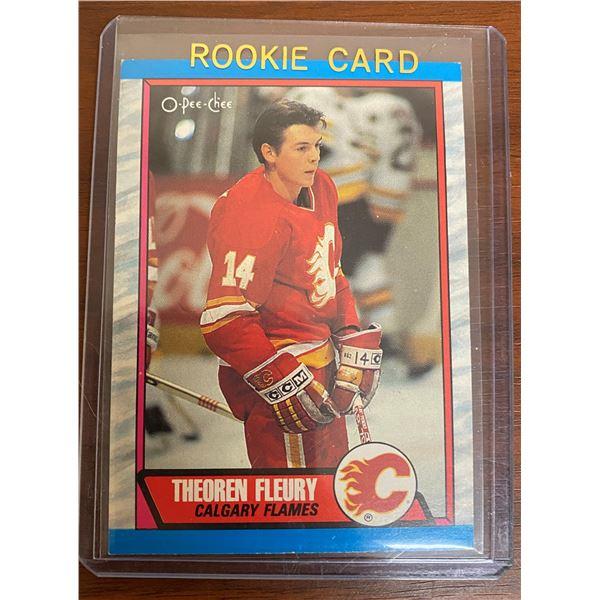 1989-90 OPC Theoren Fleury Rookie
