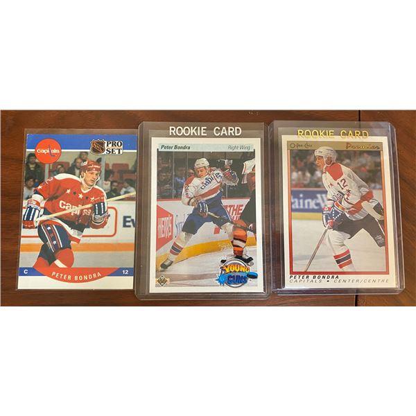 1990-91 Peter Bondra Rookie Cards