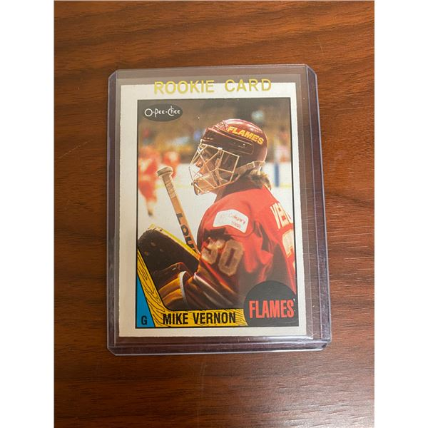 1987-88 Mike Vernon Rookie