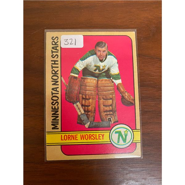 1972-73 Lorne Worsley