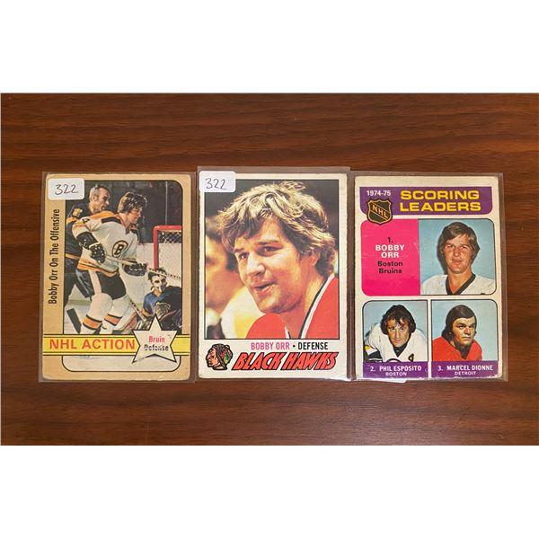 1970's OPC Bobby Orr Cards