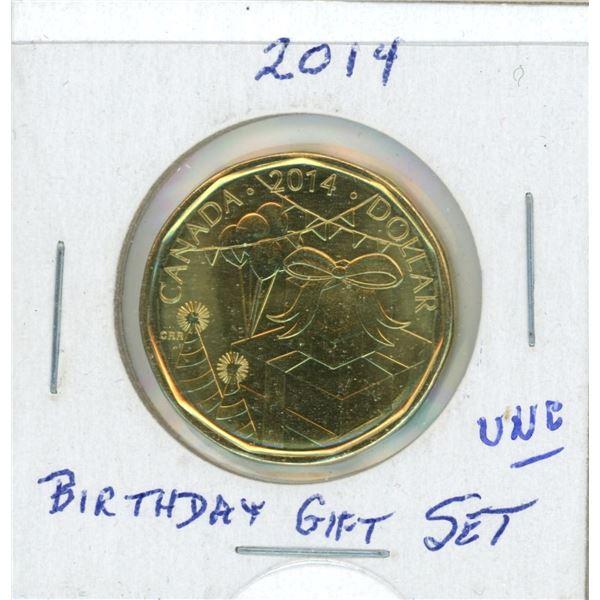 2014 Loon Dollar- Happy Birthday From Holiday Gift Set
