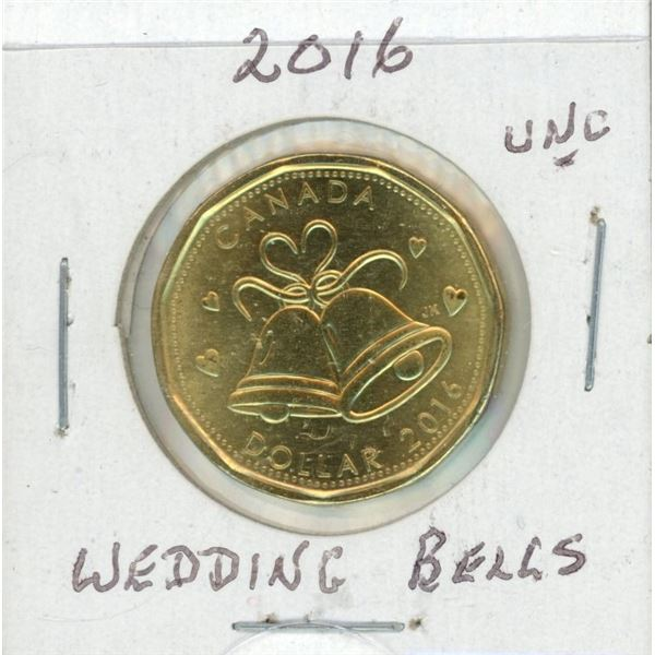 2016 Loon Dollar - Wedding Bells From Holiday Gift Set