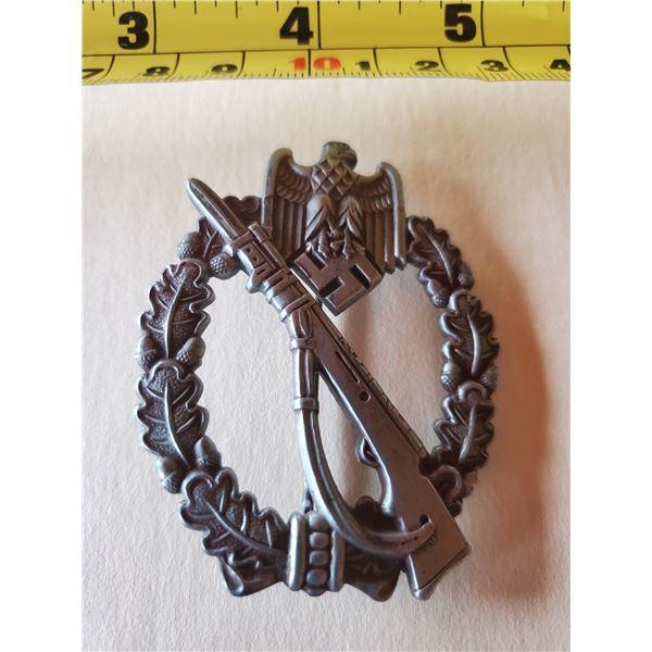 German infantry assault badge with swastika & eagle