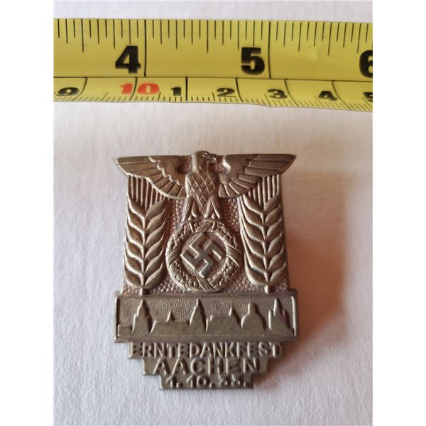 German Army medal 1933 with swastika & eagle