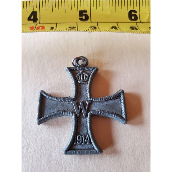 German iron cross 1st class WWI
