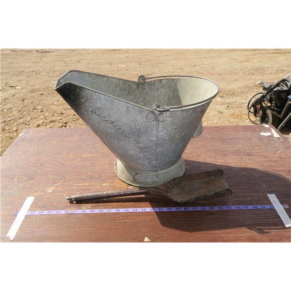 Coal Pail & Shovel
