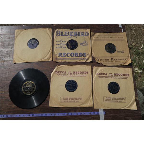 Vintage Gramophone Records