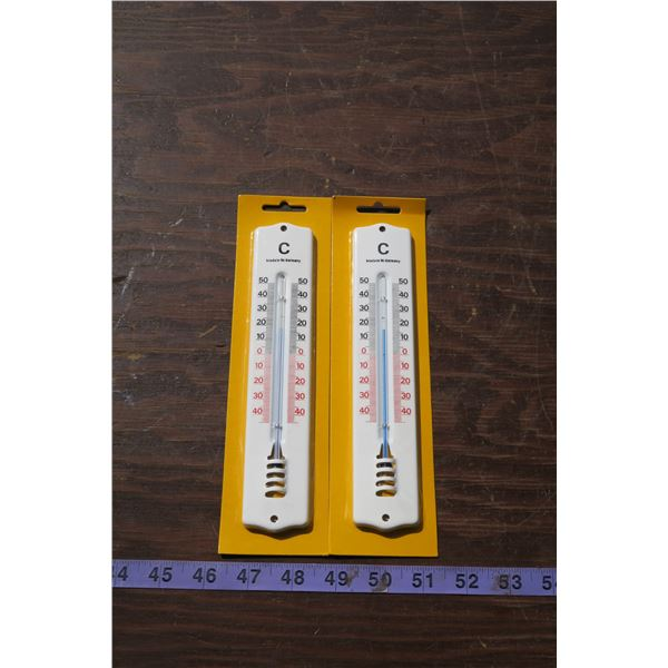 2 German Made Thermometers