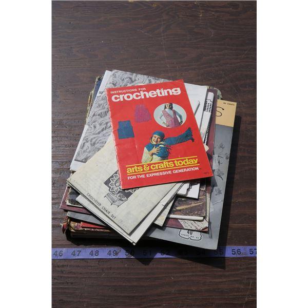 Crochet Books/Papers, etc.