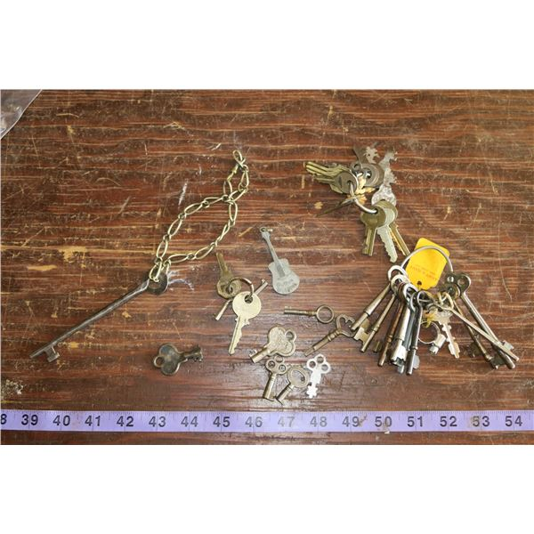 Misc. Interesting Keys including Skeleton Keys