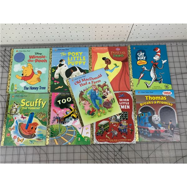 LOT OF LITTLE GOLDEN BOOKS NEW CONDITION