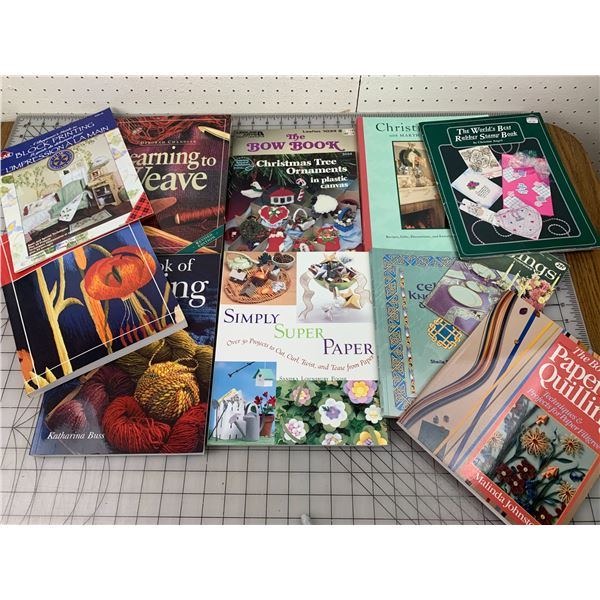 LOT OF CRAFT RELATED BOOKS