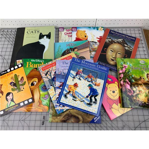 LOT OF KIDS BOOKS LIKE NEW