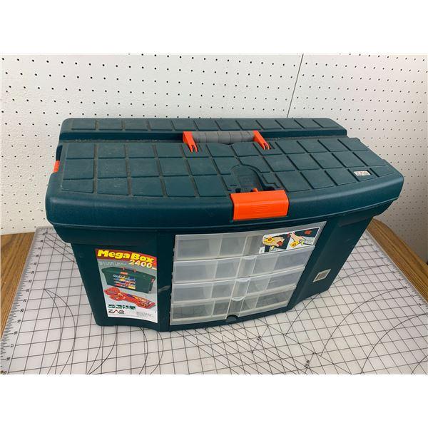 LARGE MEGABOX 2400 CRAFT TOOL BOX ORGANIZER