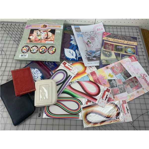CRAFT AND WALLET LOT