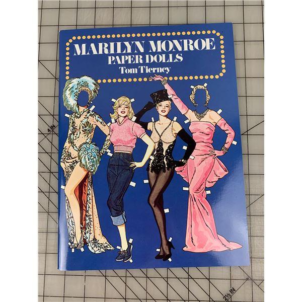 1979 VINTAGE MARILYN MONROE UNCUT PAPER DOLLS BOOK
