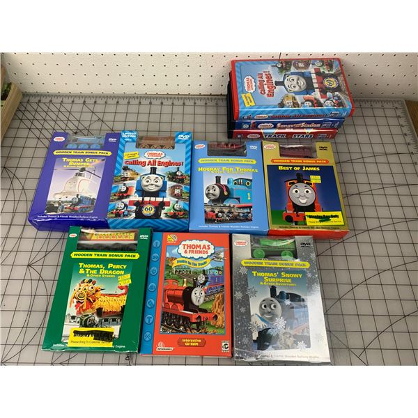 THOMAS THE TRAIN DVDS TOYS VHS